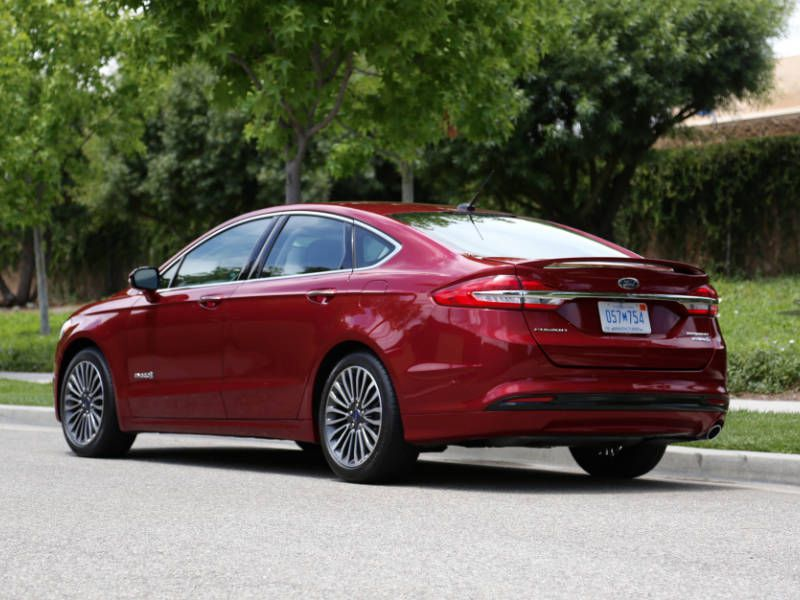 What S New For 2017 The Ford Fusion