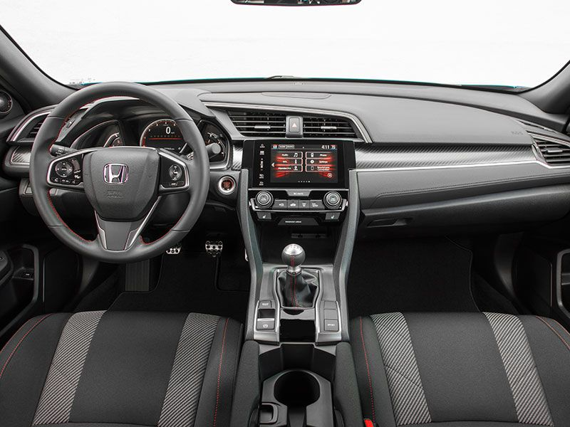 2018 honda civic si road test and review - 2016 honda civic si coupe interior ...