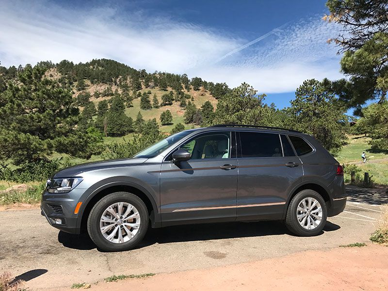 2018 Volkswagen Tiguan Road Test and Review
