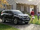 2017 Honda CR V front parked at housewith mom and son