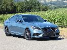 2018 Genesis G80 Sport exterior front angle by Ron Sessions