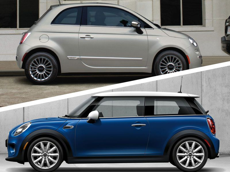 2017 Mini Cooper vs 2017 Fiat 500: Which is Best?