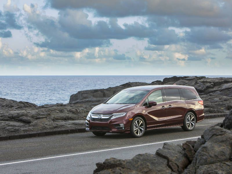10 Minivans With The Most Cargo E