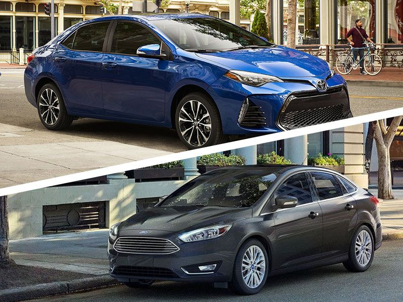 2017 Ford Focus vs 2017 Toyota Corolla: Which is Best?