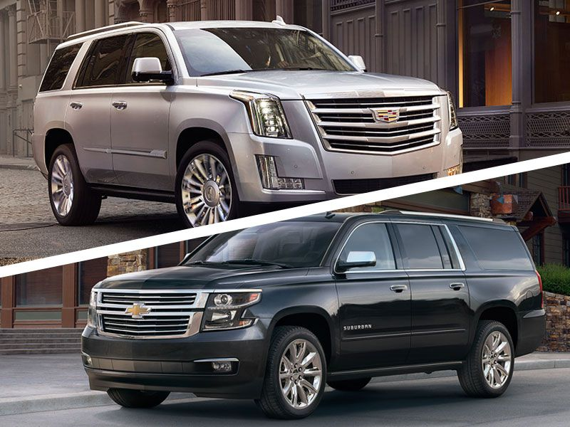 2017 Cadillac Escalade Vs 2017 Chevrolet Suburban Which Is Best