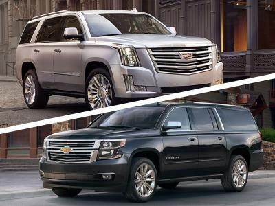 Tahoe Vs Suburban >> 2017 Cadillac Escalade Vs 2017 Chevrolet Suburban Which Is