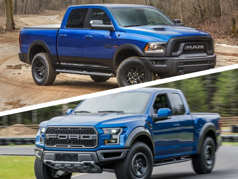 2017 ford raptor vs ram rebel best new cars for 2018. Black Bedroom Furniture Sets. Home Design Ideas