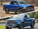 2017 Ford Raptor vs 2017 RAM Rebel