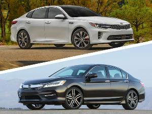 2017 Honda Accord vs. 2017 Kia Optima: Which is Best?