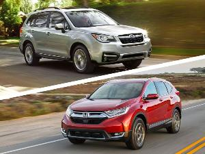 2018 subaru crosstrek road test and review for Honda crv vs subaru forester