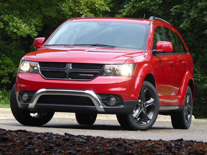2017 Dodge Journey exterior front view by Ron Sessions