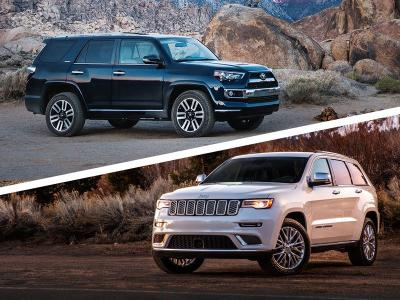 Jeep Grand Cherokee Vs Toyota 4runner >> 2017 Jeep Grand Cherokee Vs 2017 Toyota 4runner Which Is