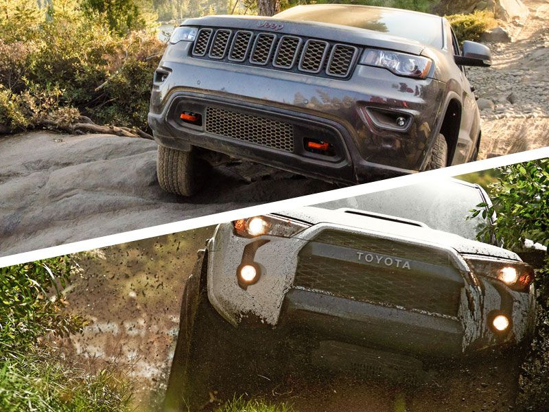 Off Roading Capabilities. The 2017 Jeep Grand Cherokee ...