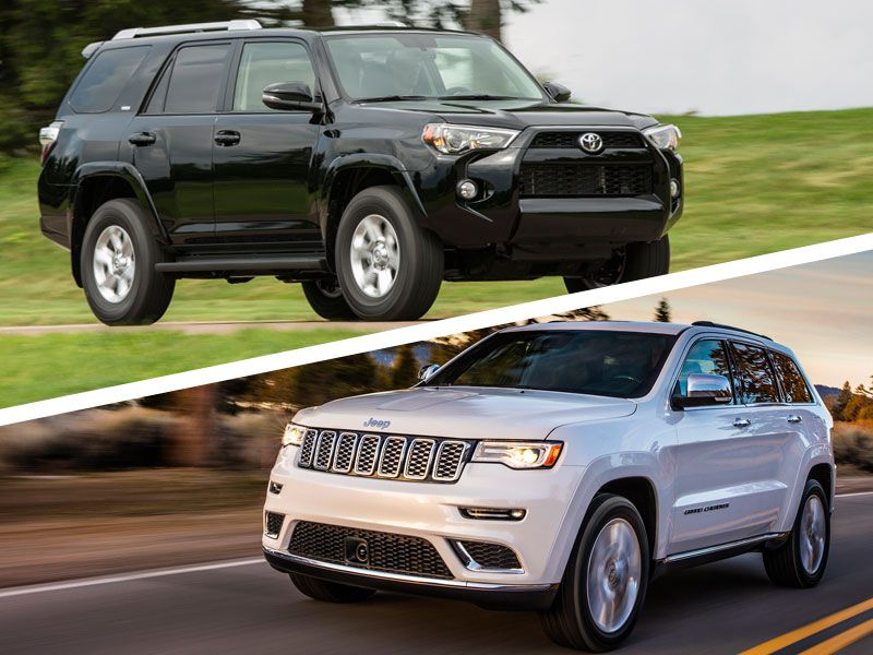 2017 Jeep Grand Cherokee vs 2017 Toyota 4Runner: Which is Best?