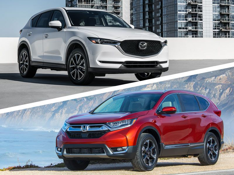 2017 Honda CR-V vs 2017 Mazda CX-5: Which is Best?