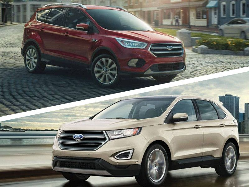 Ford Escape Vs  Ford Edge Which Is For You