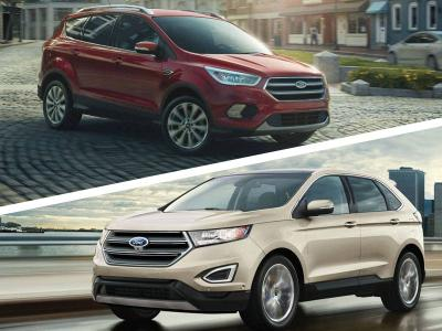 Ford Edge Vs Escape >> 2017 Ford Escape Vs 2017 Ford Edge Which Is For You