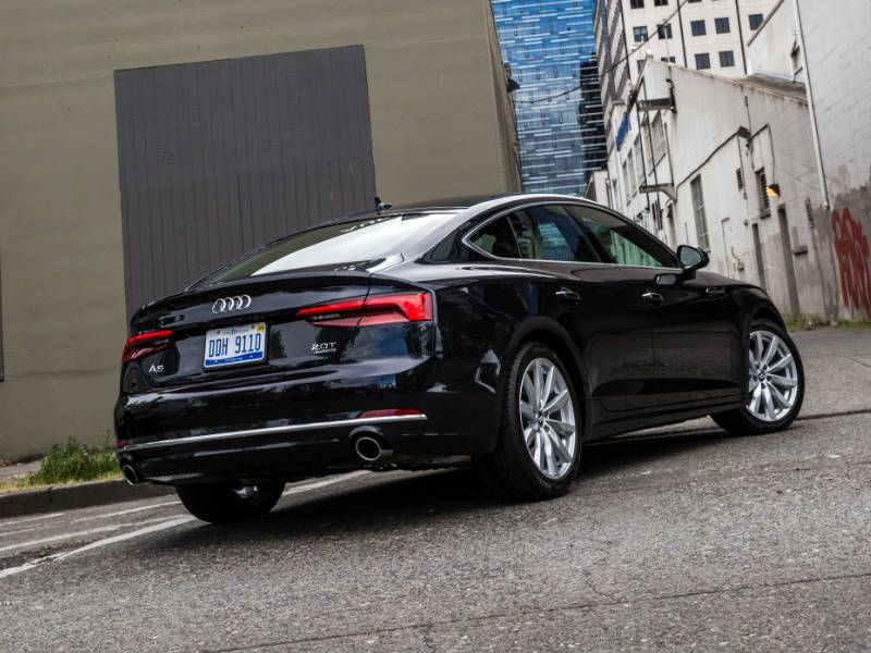 2018 audi a5 road test and review. Black Bedroom Furniture Sets. Home Design Ideas
