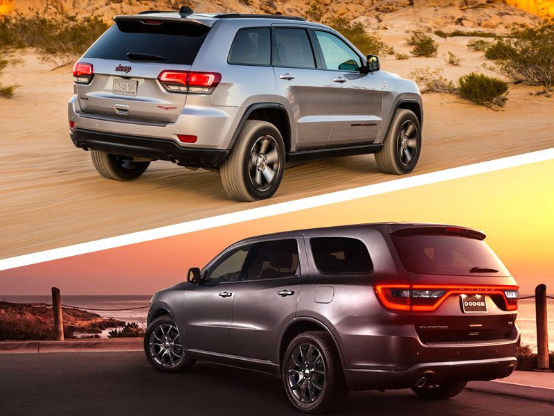 Exterior Styling Both The Grand Cherokee Trailhawk And Durango