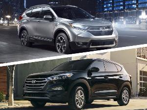 2017 Honda-CR-V vs 2017 Hyundai Tucson: Which is Best?