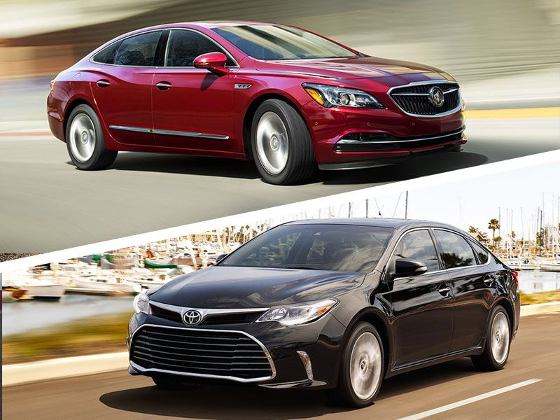 2017 Buick Lacrosse Vs 2017 Toyota Avalon Which Is Best