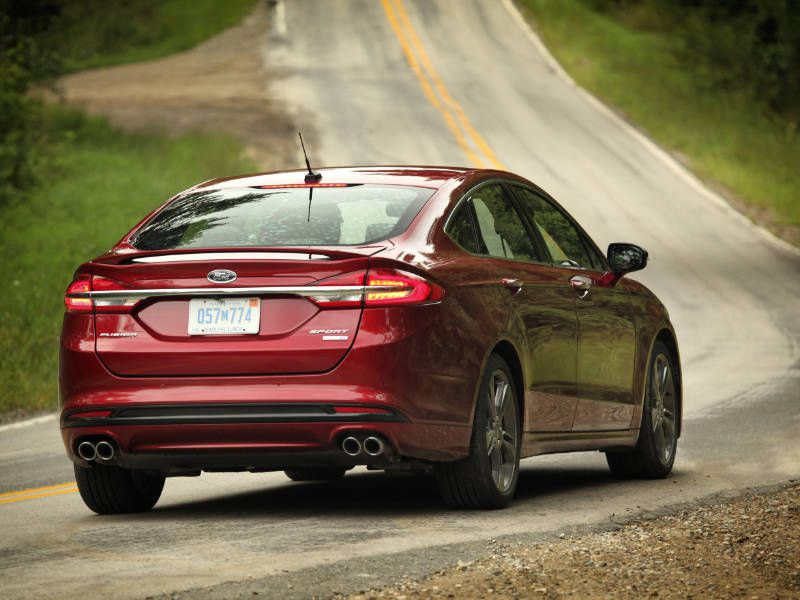 2018 ford fusion sport road test and review. Black Bedroom Furniture Sets. Home Design Ideas