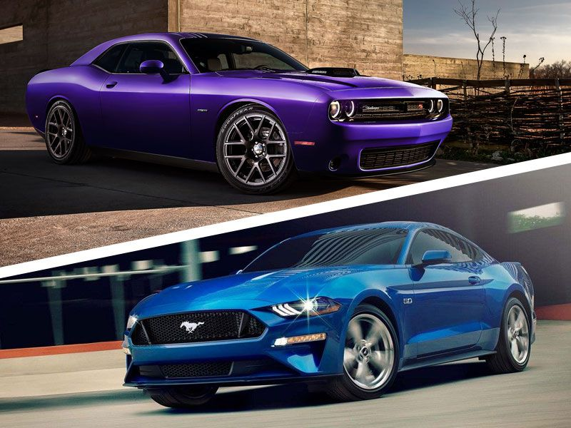 Dodge Challenger vs Ford Mustang
