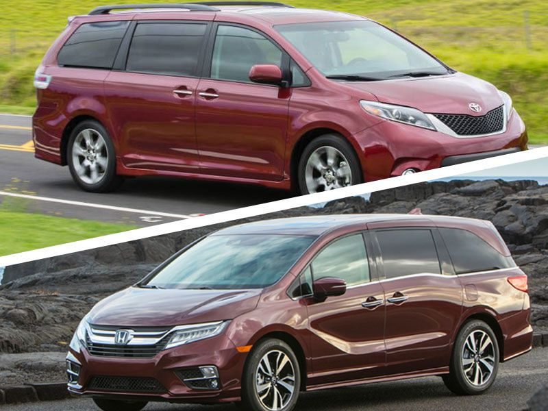 2018 Honda Odyssey Vs 2018 Toyota Sienna Which Is Best