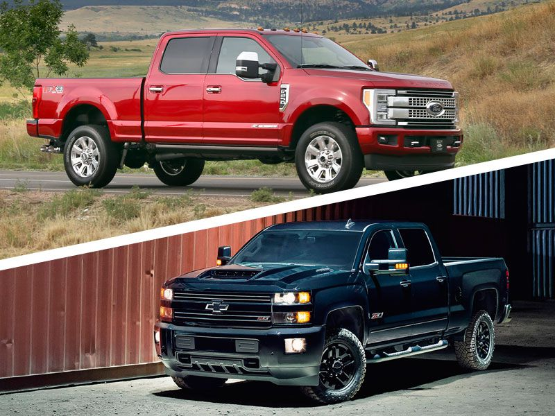 2017 ford f 250 vs 2017 chevrolet silverado 2500 which is best