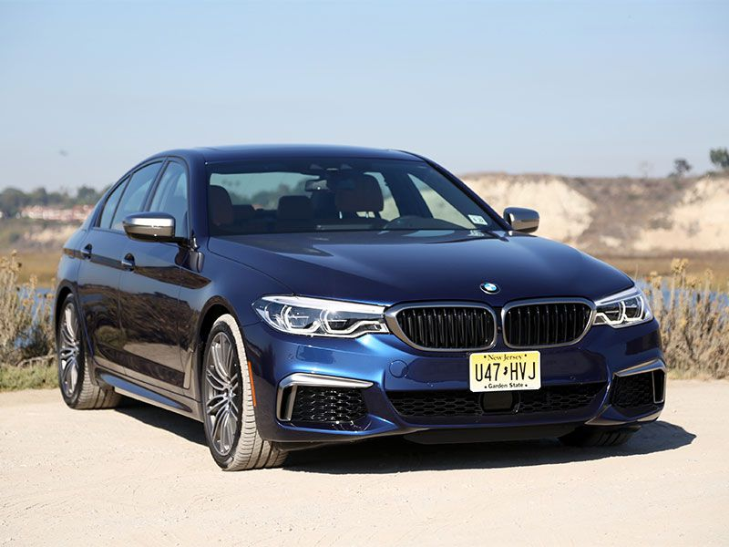 2018 BMW M550i xDrive Road Test and Review