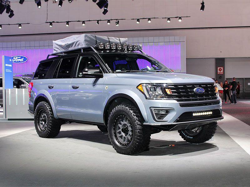 2017 LA Auto Show New SUVs And Trucks Photo Gallery