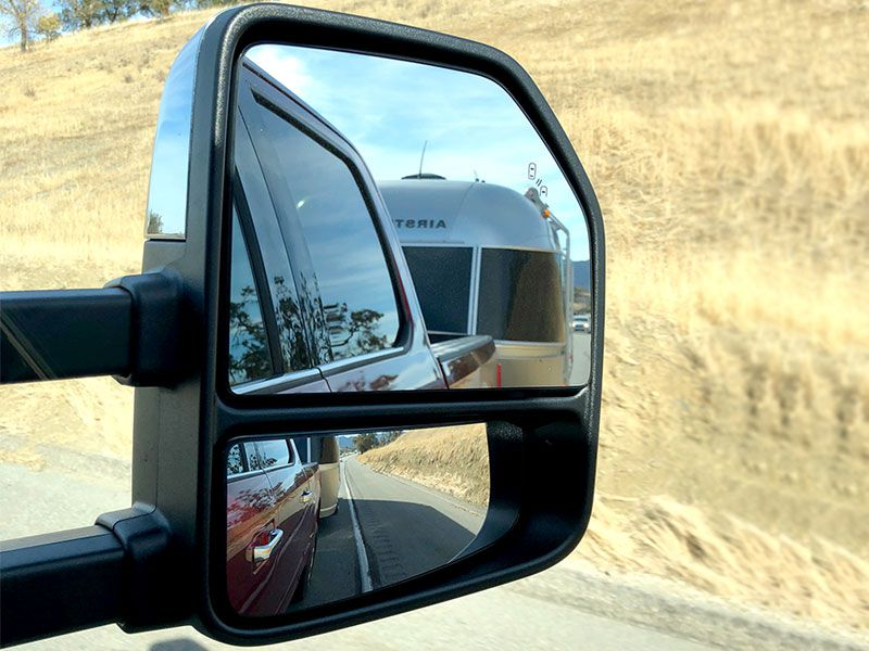 Large And Extending Mirrors Make Towing A Cinch The Ford F