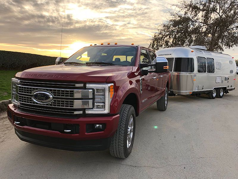 2017 Ford F-250 Super Duty: Towing Road Test
