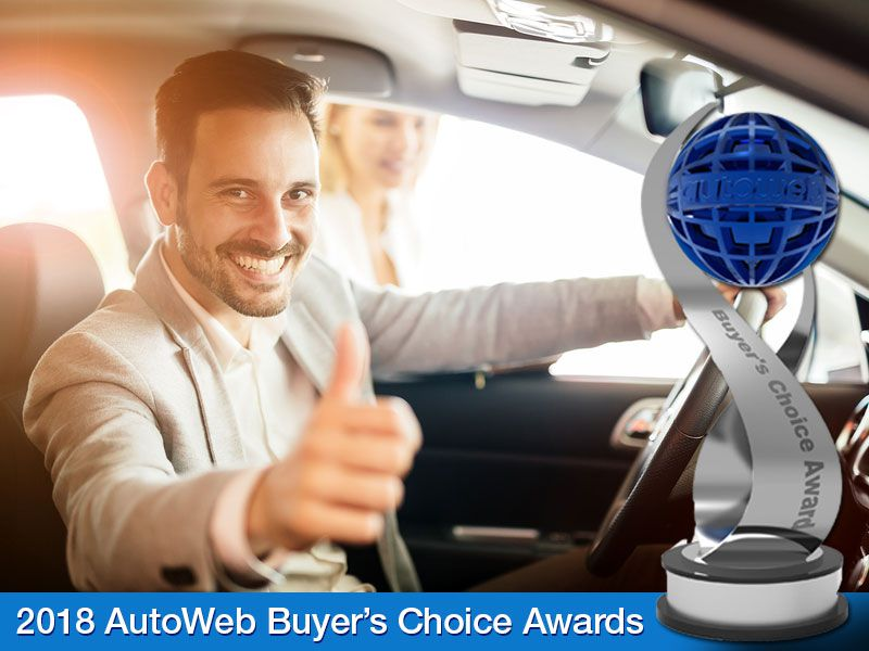 Car Shoppers Have Spoken: 2018 AutoWeb Buyer's Choice Award Winners