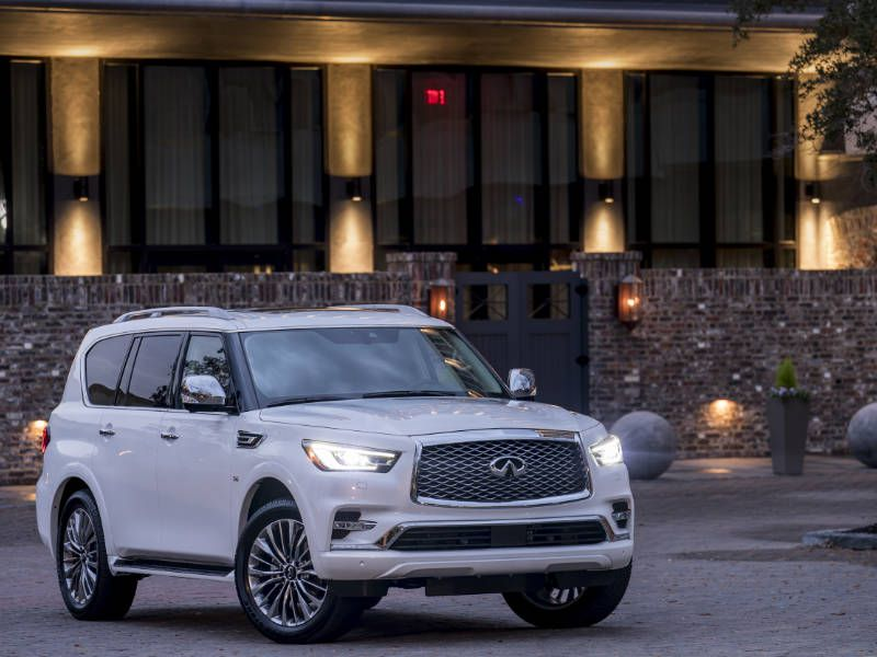 2018 Infiniti QX80 Road Test and Review