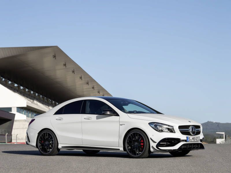 2018 Mercedes Amg Cla 45 4matic From 51 395