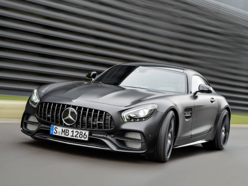 2018 Mercedes Amg Gt Coupe From 113 395