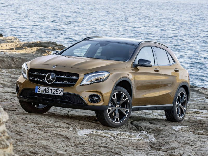 2018 Mercedes Benz Gla Cl From 34 395