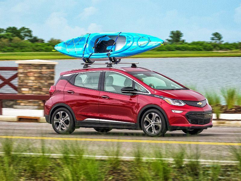 2018 Chevrolet Bolt Among The Cars