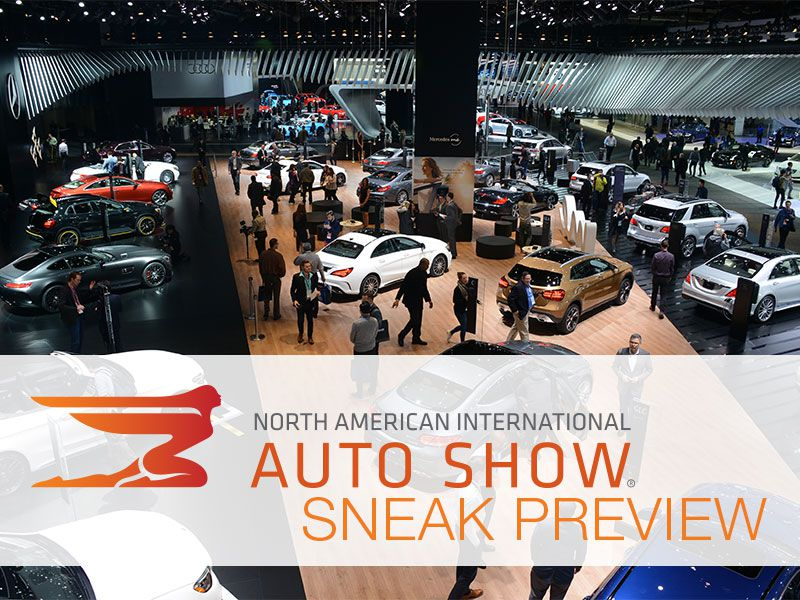 2018 Detroit Auto Show Sneak Peek Preview