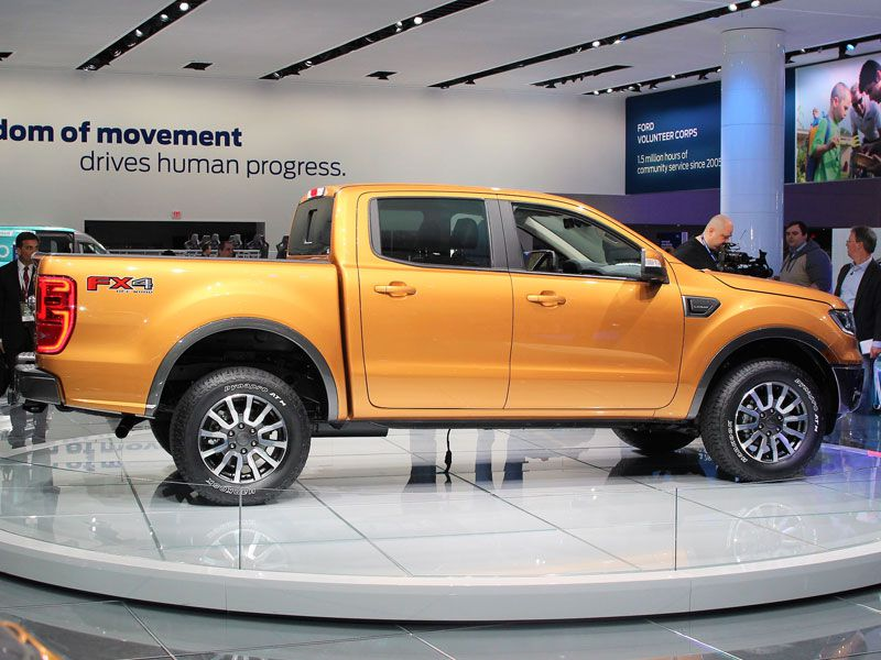 2018 Detroit Auto Show New SUVs and Trucks Photo Gallery