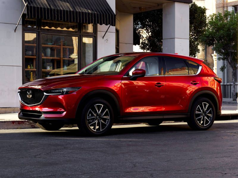 2018 Mazda CX 5 front three quarter