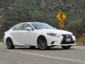 2015 Lexus IS 350 F Sport Review