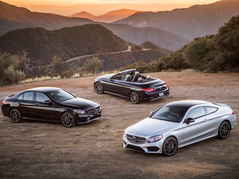 2017 Mercedes Benz Amg C 43 Sedan Coupe And Cabriolet Review