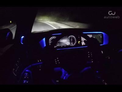 What is Mercedes Night View Assist with Spotlight Function