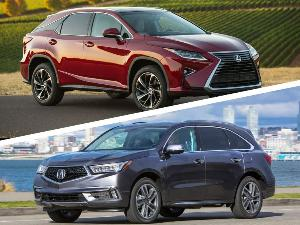 2018 Acura MDX vs 2018 Lexus RX: Which is Best?