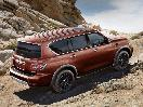 2018 Nissan Armada Platinum copper off road