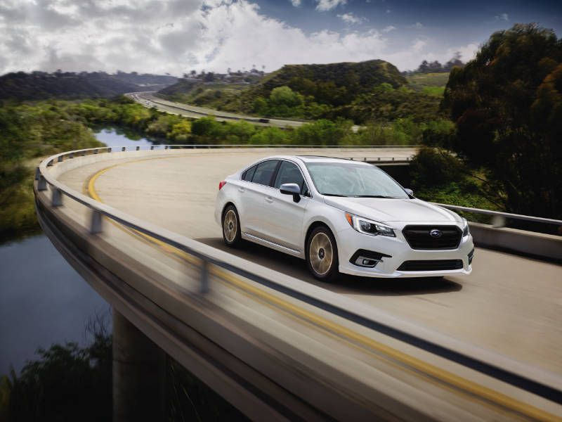 2018 Subaru Legacy Road Test And Review