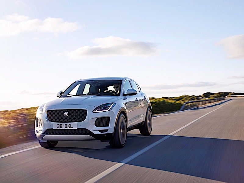 10 things you need to know about the 2018 jaguar e pace. Black Bedroom Furniture Sets. Home Design Ideas