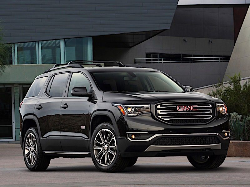 2018 Gmc Acadia Vs Toyota Highlander Which Is Best